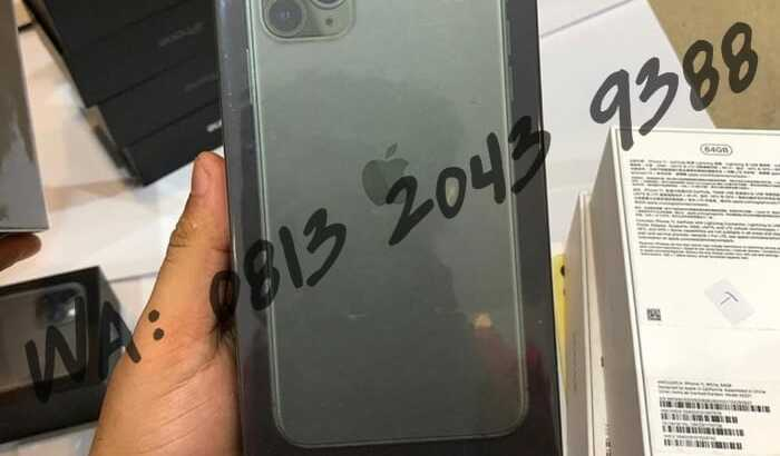 JUAL HP IPHONE 11 PRO MAX BLACK MARKET ORIGINAL