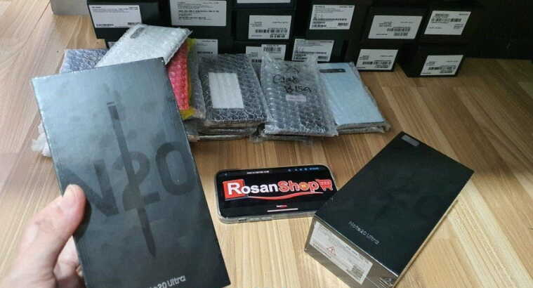 JUAL SAMSUNG GALAXY NOTE 20 ULTRA BLACK MARKET ORI